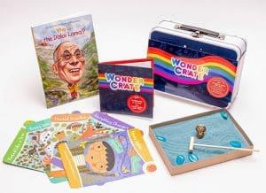 Dalai Lama Box from Wonder Crate Kids Subscription Box For Kids